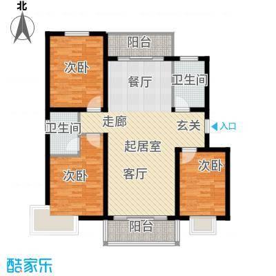 滨洲华府112.00㎡C户型3室2厅2卫