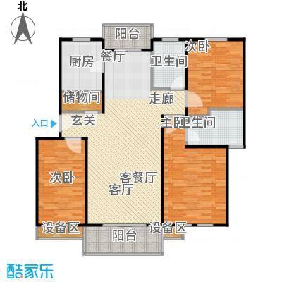成事高邸110.00㎡房型: 三房; 面积段: 110 -130 平方米;户型