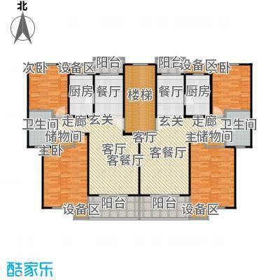 成事高邸6、7号楼标准层户型