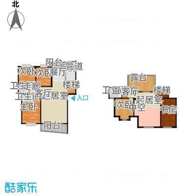 芳卉园(二期)196.25㎡房型: 复式; 面积段: 196.25 -245.33 平方米;户型