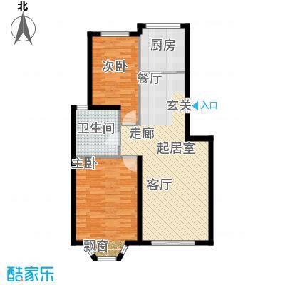 英伦花园129.00㎡多层1户型3室2厅2卫户型3室2厅2卫