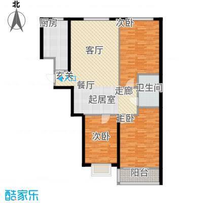 辰隆星河城115.00㎡3室2厅1卫户型3室2厅1卫