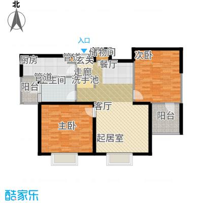静安阳光华庭96.26㎡房型: 二房; 面积段: 96.26 -96.26 平方米; 户型