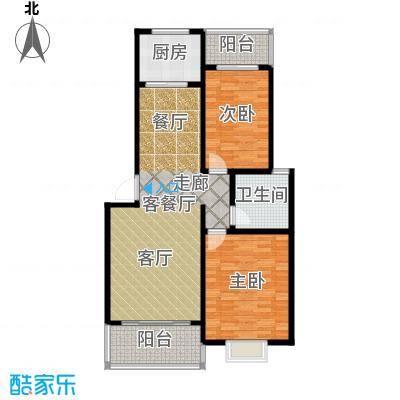 锦绣东城94.11㎡户型10室