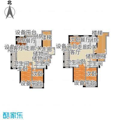 新鹏阳光华庭127.30㎡D型户型3室2厅2卫