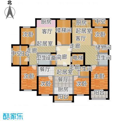 金湾山城户型6室3卫