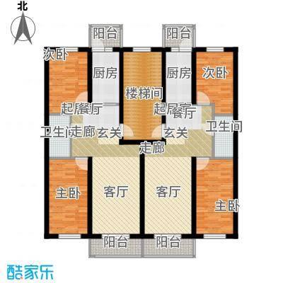 联通名苑L1建筑面积77.22平方米,L2建筑面积76.57平方米户型2室1厅1卫