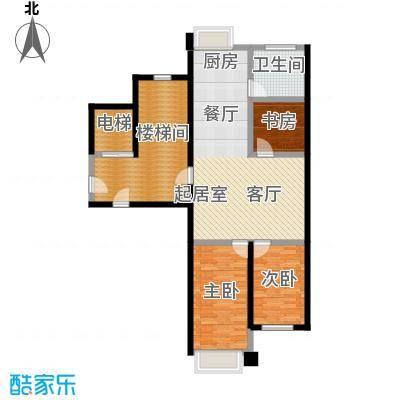 馨悦家园户型3室1卫