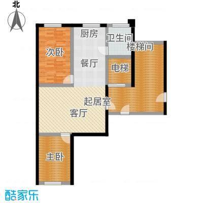 馨悦家园户型2室1卫