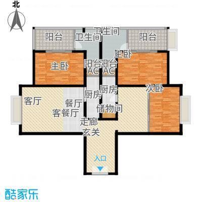 金紫荆公馆J户型