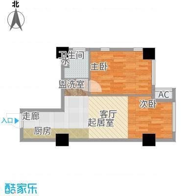 东港林苑户型1室1卫