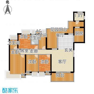 17、18栋标准层01、02房K户型