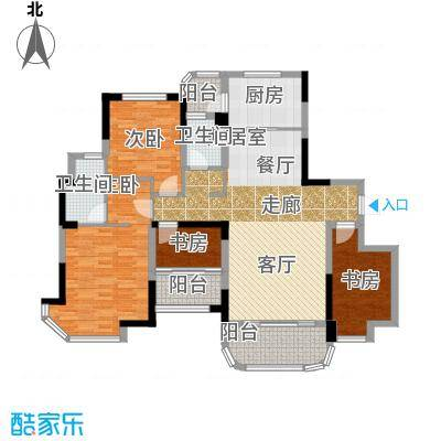 福鼎碧桂园J622-A户型4室2卫1厨