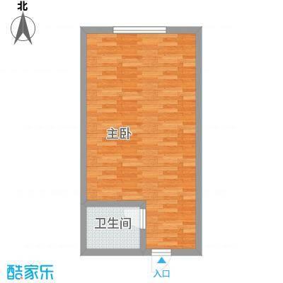 昌泰千秋大厦39.97㎡J户型1室1卫