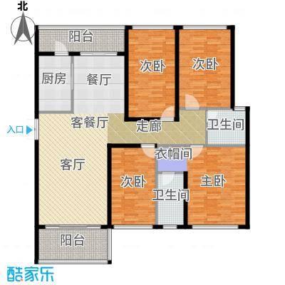 光明大第140.00㎡6栋A1+A2型-7栋C1+C2型140-142平米偶数层户型4室2厅2卫
