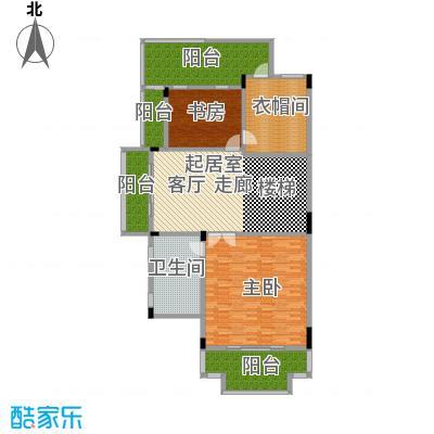 晋愉碧怡林畔东岸452.00㎡宽底双拼别墅A2销售三层户型2室1卫