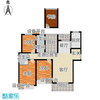 中央商务区A1 3室2厅1卫142㎡户型3室2厅1卫
