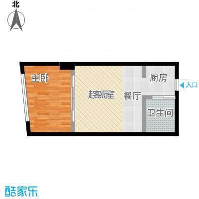 吉林中京城H49.06户型