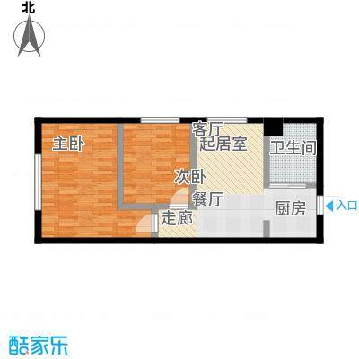 吉林中京城B60.91户型