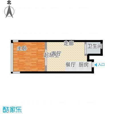 吉林中京城D61.28户型