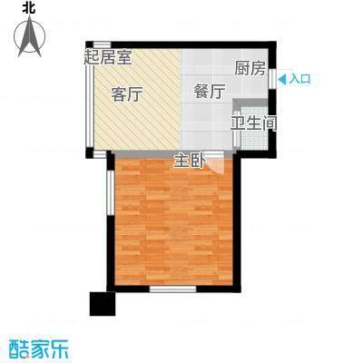 吉林中京城F68.28户型