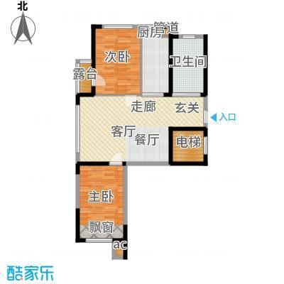 恒隆通潭富苑两室两厅一厨一卫84.83㎡.jpg户型