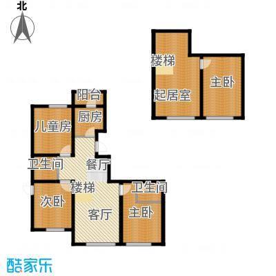 江山逸景139.49㎡P1户型10室