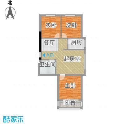龙潭官邸95.00㎡G户型3室2厅1卫