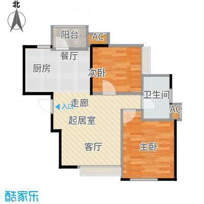 大连天地・悦翠台Style82.00㎡一室一厅一卫户型1室1厅1卫