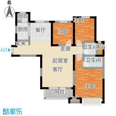 中海紫御江城中海・紫御江城御峰C2三室两厅两卫138平米S
