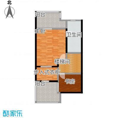 庆隆南山高尔夫国际社区73.50㎡钻石岛D三层户型2室1卫