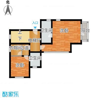 君海87.96㎡户型10室