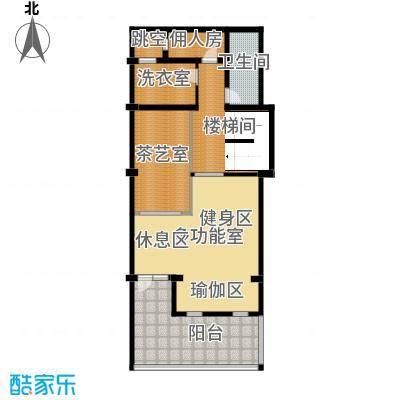 保亿丽景山113.00㎡联排别墅A地下一层户型10室