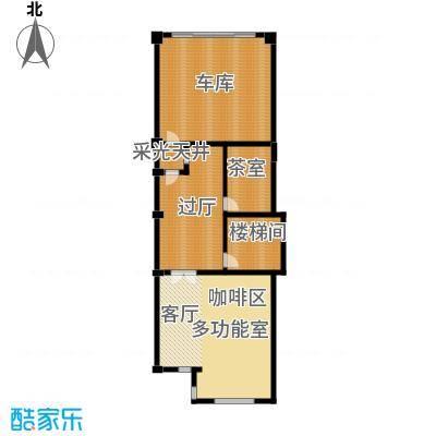 保亿丽景山103.00㎡联排别墅A地下二层户型10室