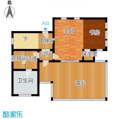 君海121.09㎡户型10室