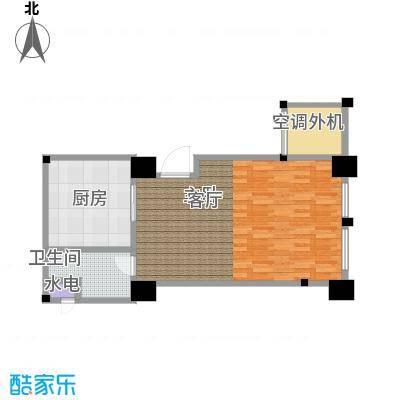 新城帝景67.59㎡67.59平米1室1厅1内户型1室1厅1卫