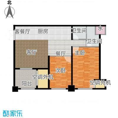 新城帝景122.95㎡122.95平米3室2厅1卫户型3室2厅1卫