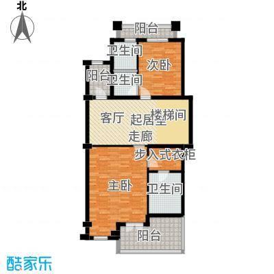 保亿丽景山92.00㎡联排别墅A地上二层户型10室