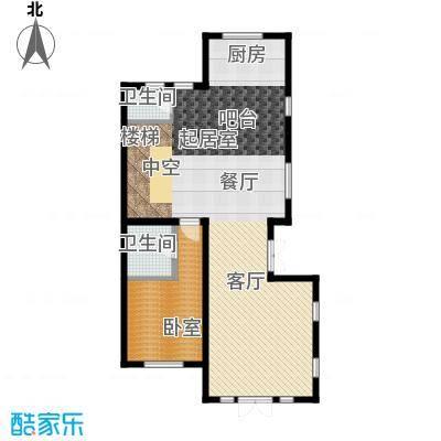 君海101.54㎡户型10室