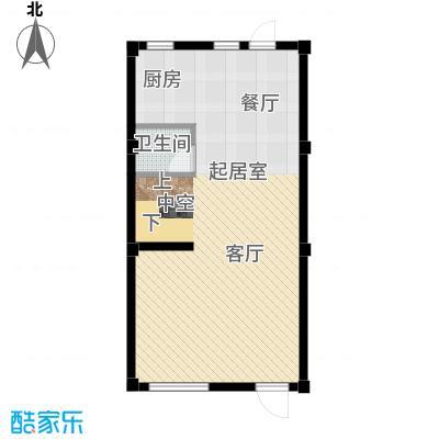 君海54.06㎡联排玲珑墅户型10室