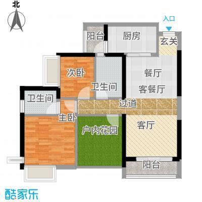 尚峰温莎堡80.22㎡A4户型10室