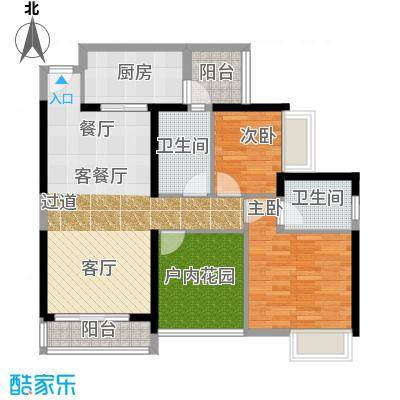 尚峰温莎堡85.96㎡A3户型10室