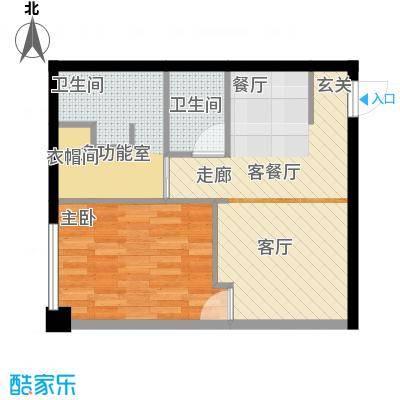 金紫荆公馆M户型