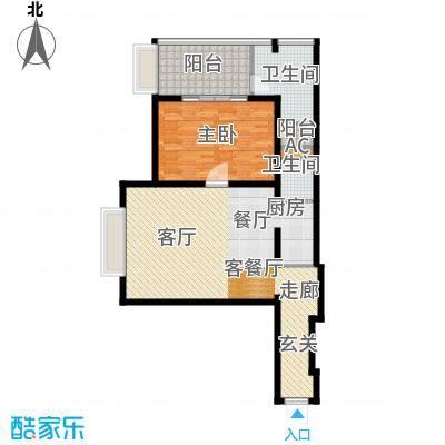 金紫荆公馆G1户型