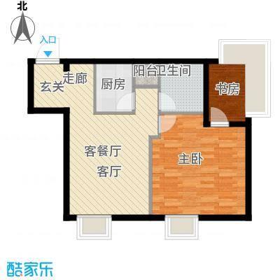 金紫荆公馆L户型