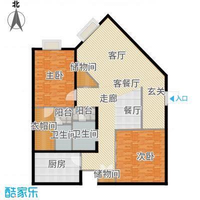 金紫荆公馆H户型