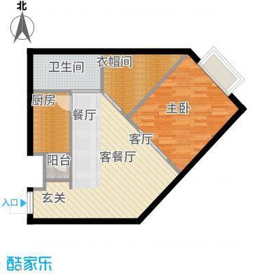 金紫荆公馆F户型