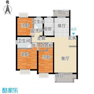 伟星玲珑湾118.00㎡多层C户型3室2厅1厨2卫LL