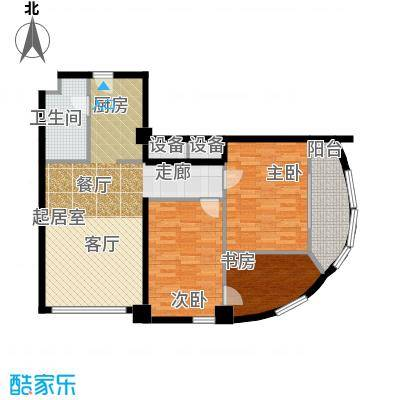 HELLO广场户型3室1卫