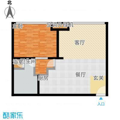 新世界・名泷107.62㎡S3户型一室一厅一卫户型1室1厅1卫